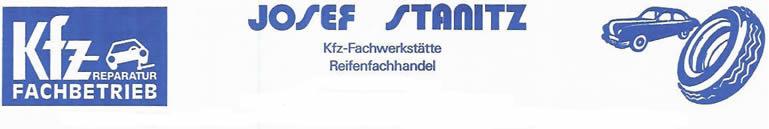 Josef Stanitz - KFZ Fachwerstätte und Reifenhandel